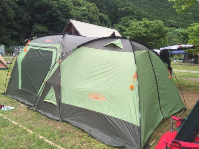 2016年  家族で初キャンプ&河内川キャンプ場
