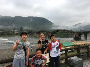2019年 夏の旅行1日目(中国地方)車中泊7日目