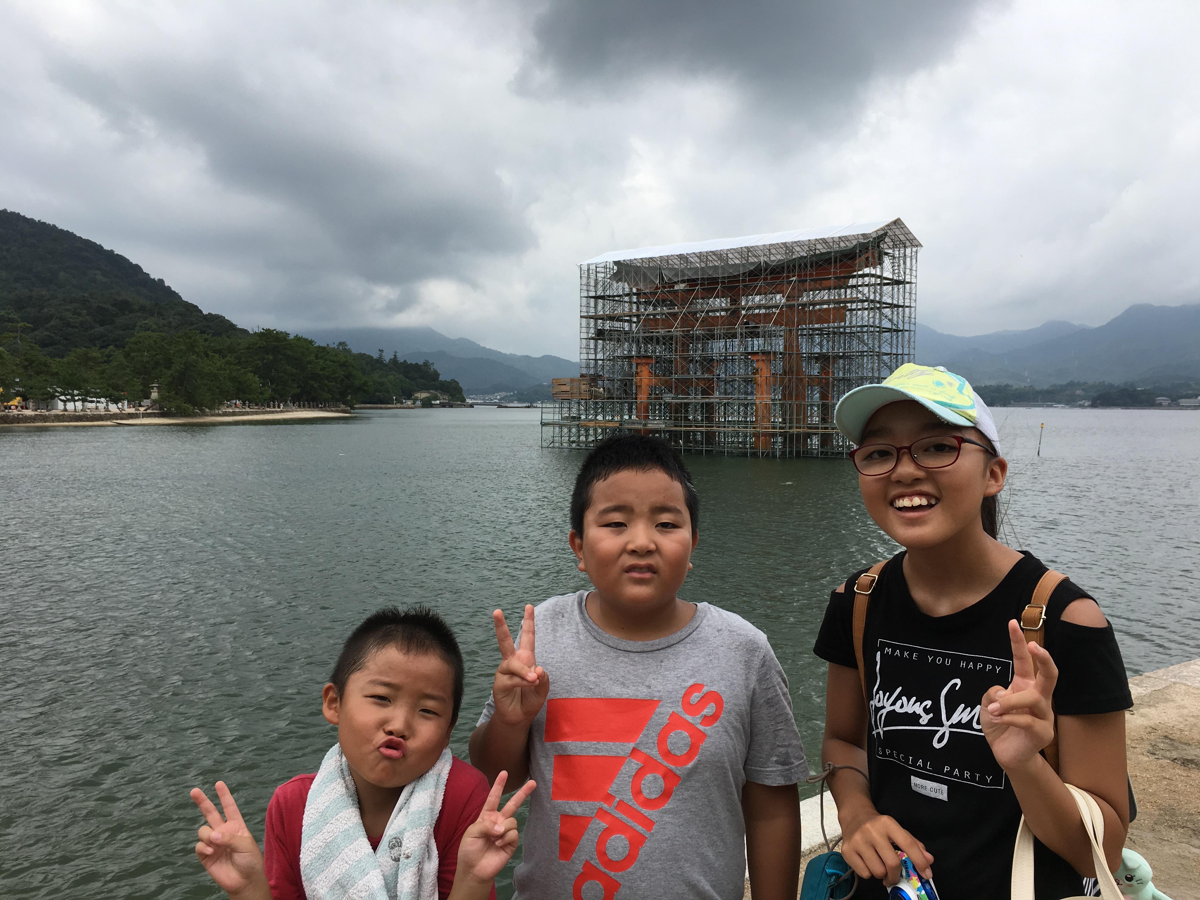 2019年 夏の旅行2日目(広島)車中泊8日目